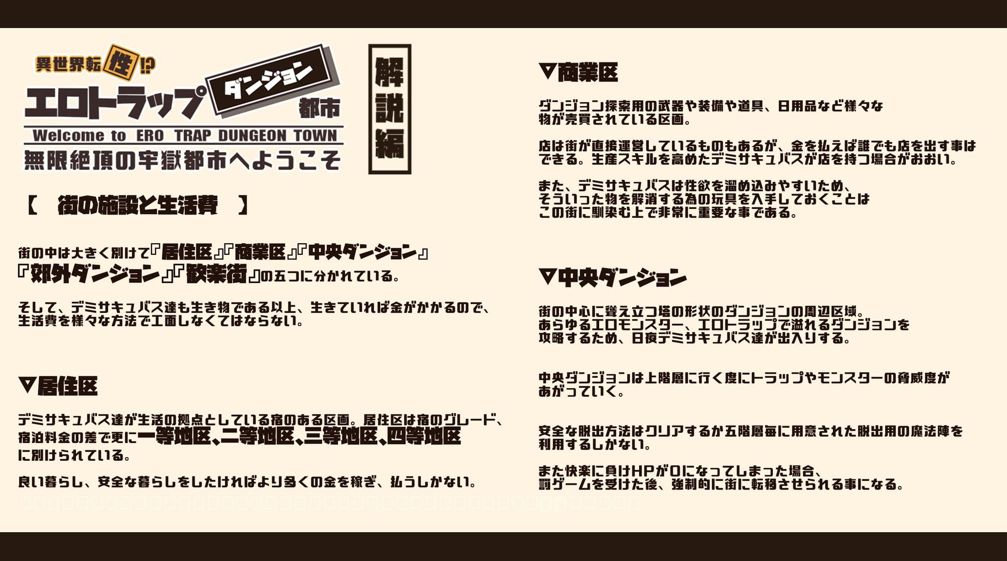 【CG集+おほ声ボイス+マゾシチュボイス動画】異世界転【性】エロトラップダンジョンタウン-無限絶頂の牢獄都市へようこそ-(1)