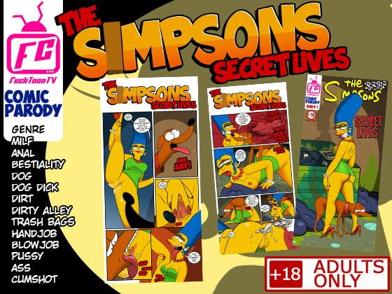 RJ341783 the Smpsons Secret Lives [20210901]