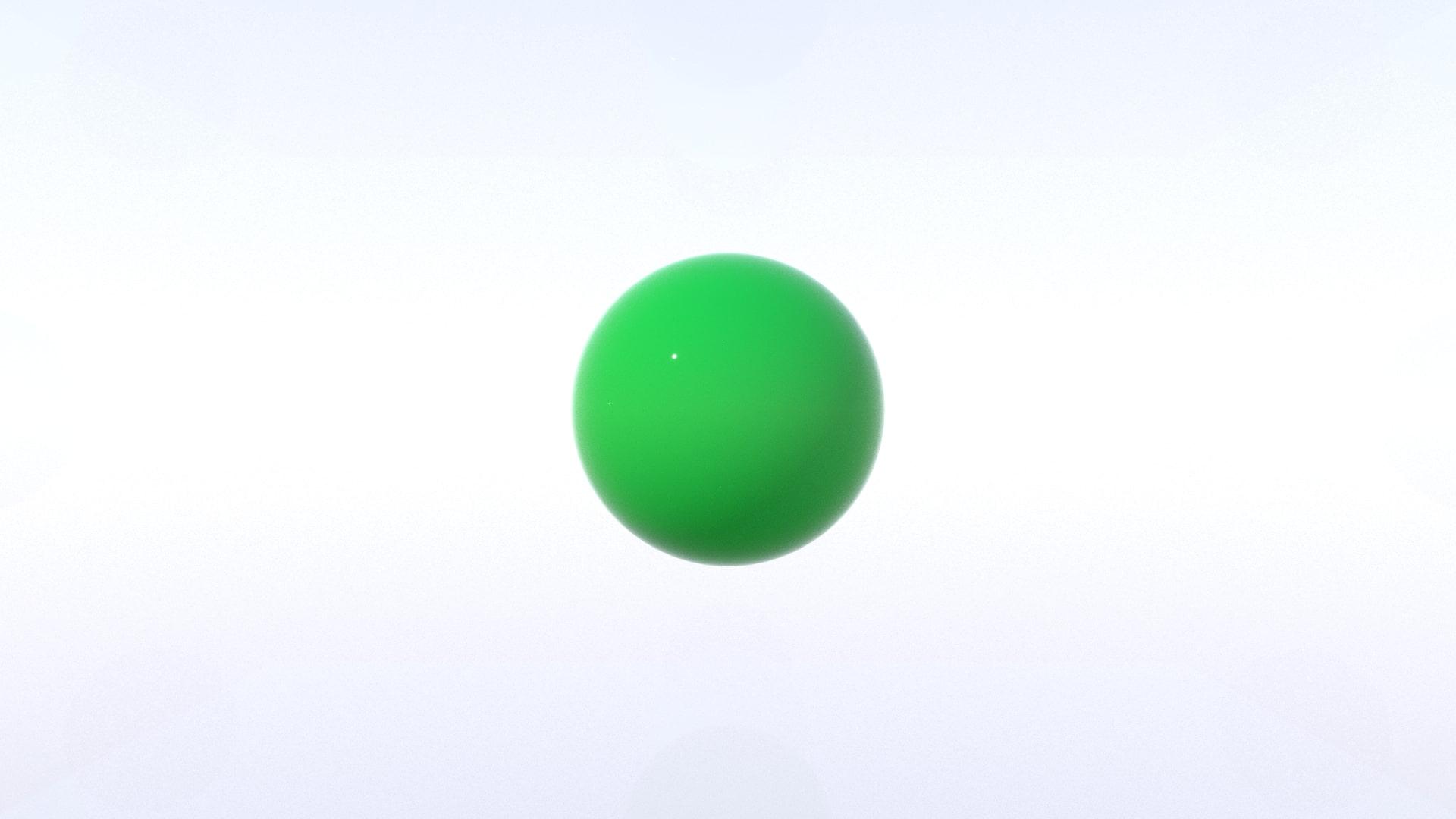グラスカラーボール