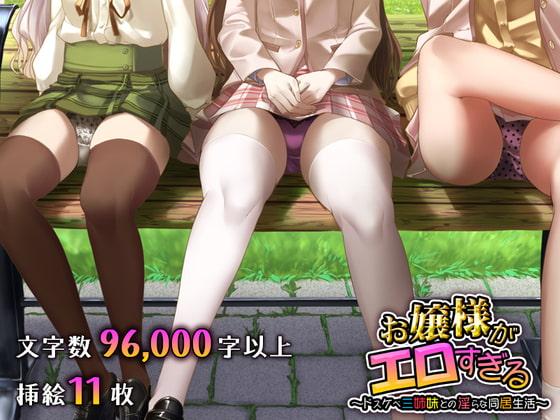 RJ342873 お嬢様がエロすぎる ~ドスケベ三姉妹との淫らな同居生活~ [20210917]