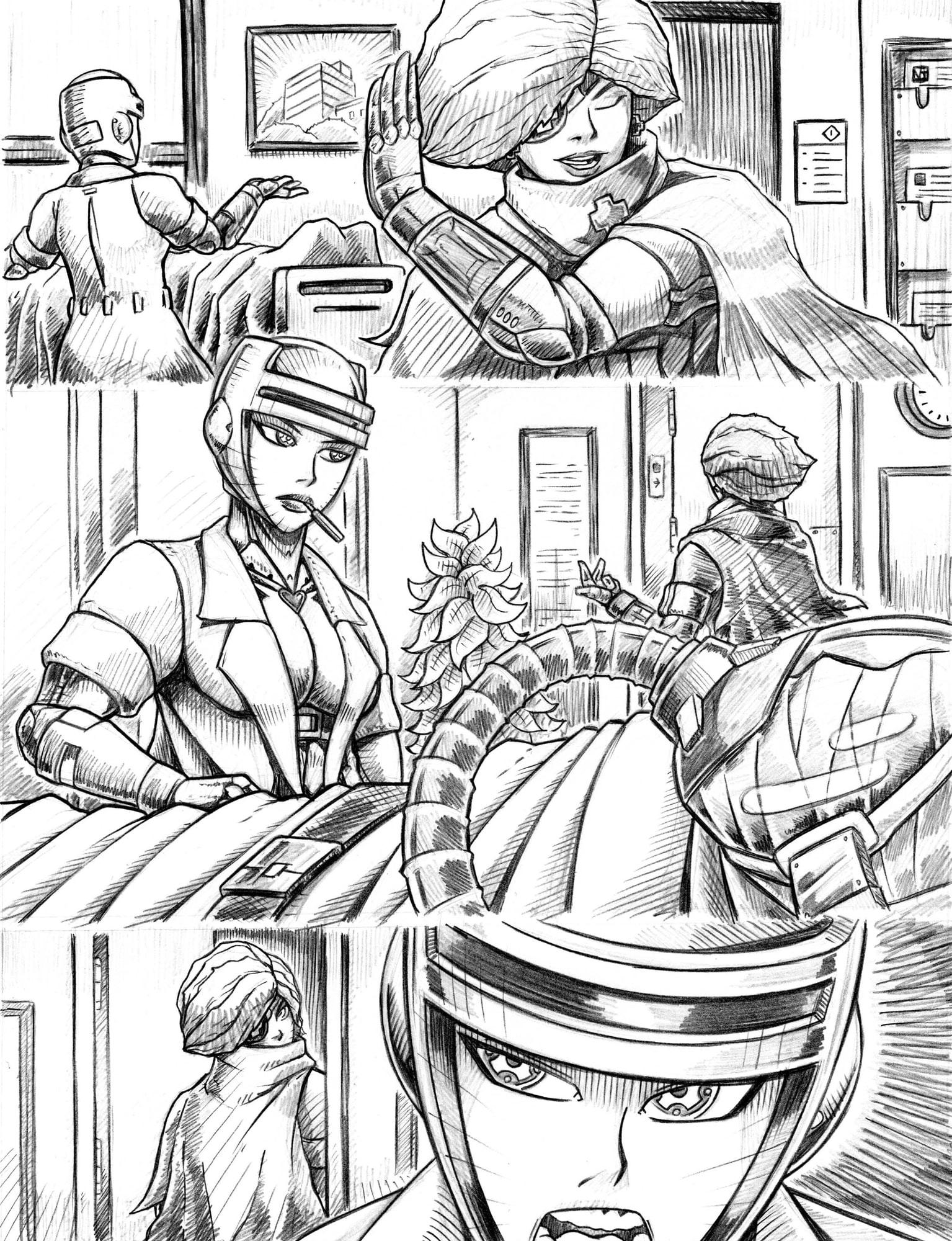 Toro Comics Sketchbook Vol. 1