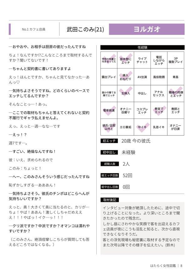 はたらく女性図鑑 vol.1 ~働く女性の一日「ヒルガオ・ヨルガオ」に密着!~