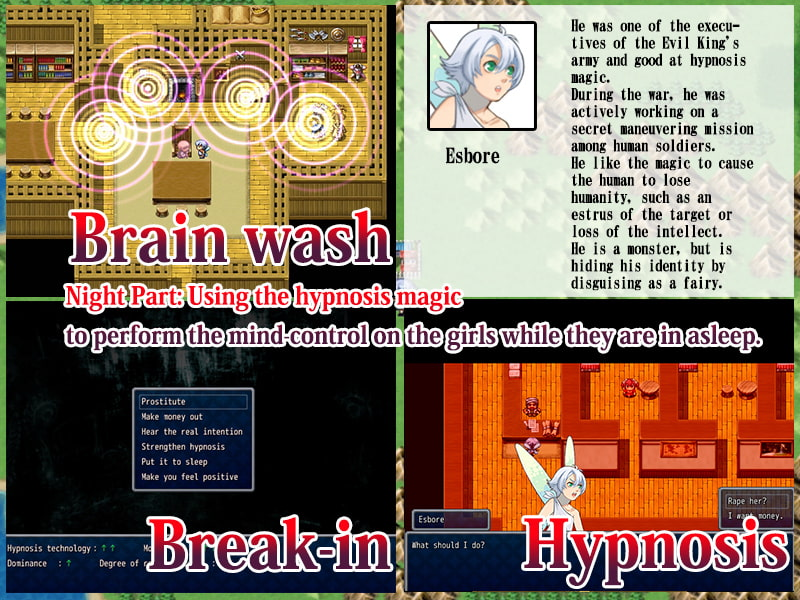 Sorcerer and the Female Warriors - Hypnosis Done Braves -