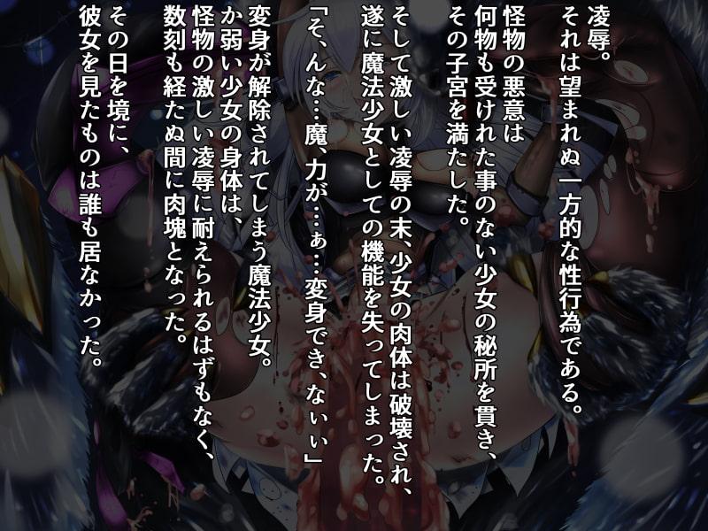 魔法少女敗北凌辱CG集 episode1 ~銀のマテリアル~