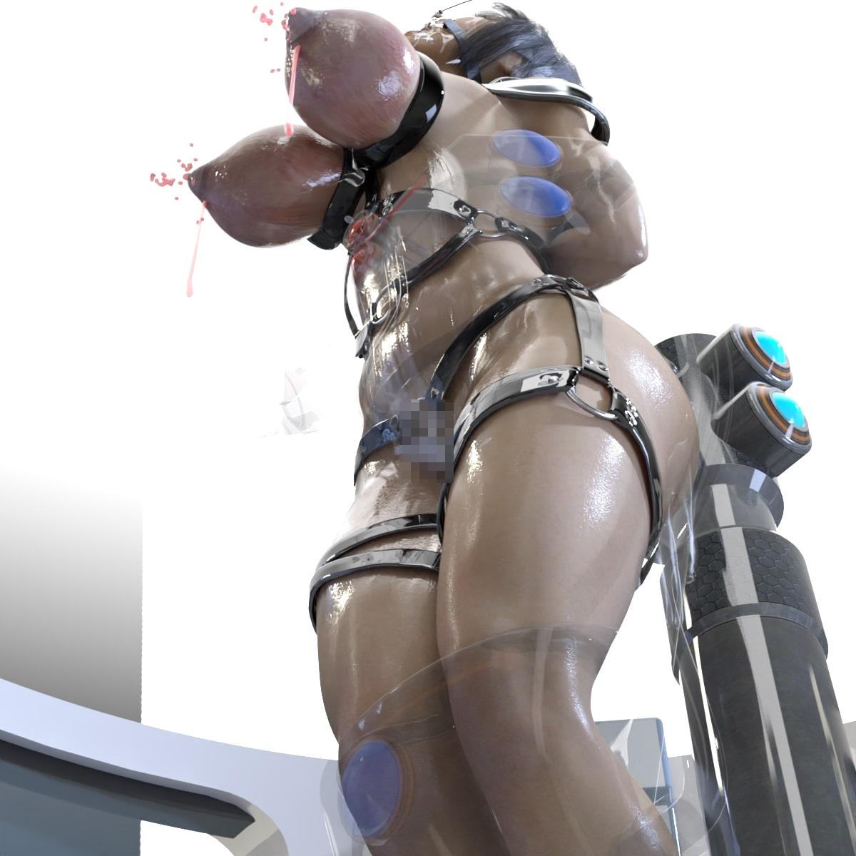 朱里のSF制服拷問