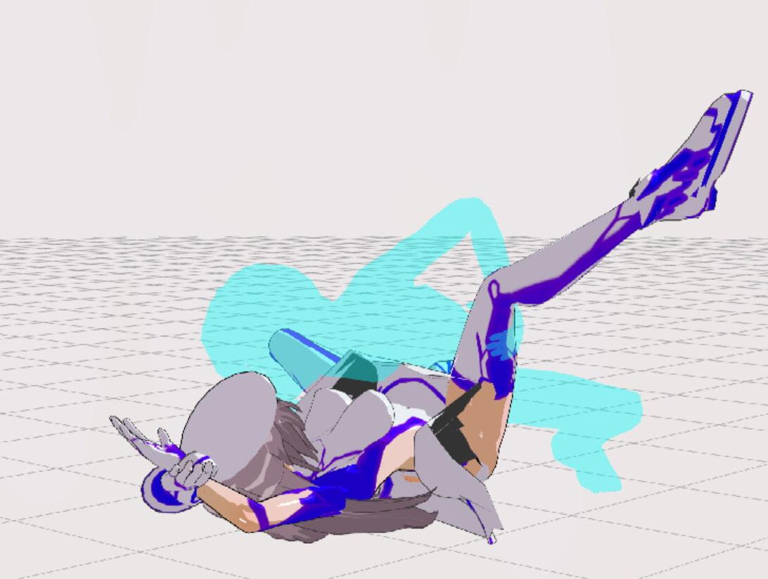3Dカスタム少女追加モーション混在SmallPack6