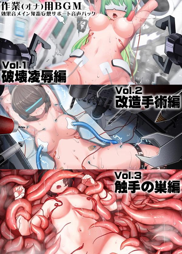 作業(オナ)用BGM 効果音メイン 鬼畜妄想サポート音声パック