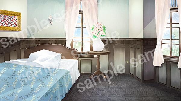 背景素材「洋館の一室」