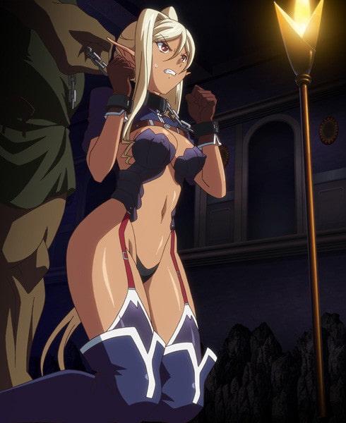 黒獣~気高き聖女は白濁に染まる~ ~オリガ×クロエ 黒の城、崩落編~のサンプル画像1