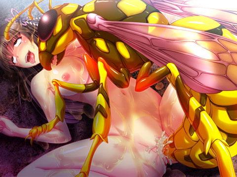 JK巫女姫 異種間受胎  サンプル画像5