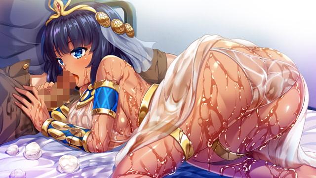 クレオパトラがやってきた!? ~現代に降臨した古代女王と濡れ透け性生活~