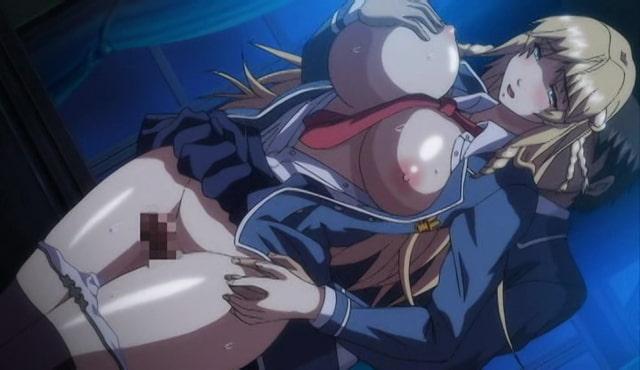 OVA 巨乳令嬢MC学園 #2 「女帝の陥落」