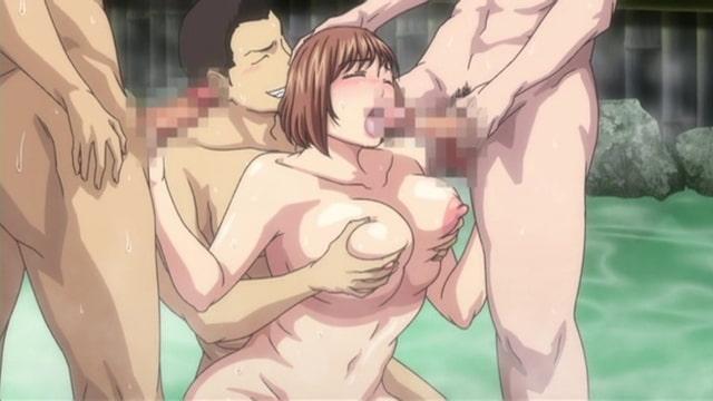 妻が温泉でサークル仲間の肉便器になったのですが… Anime Edition