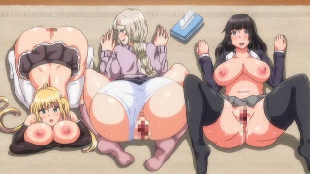 OVA むっつりドスケベ露義母姉妹の本質見抜いてセックス三昧 #2 僕の義姉妹がビッチなのは、義母さんの本性がヤリマンだったからでした