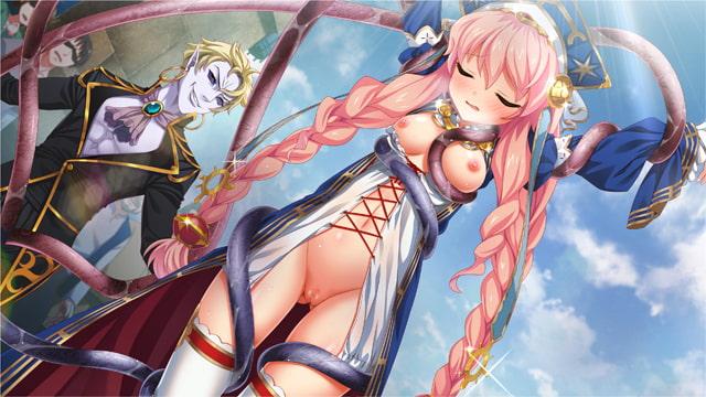 邪淫のいけにえ ~触手姫アルテア&魔子宮遣いビアンカ 終わりの無い受胎~  サンプル画像7