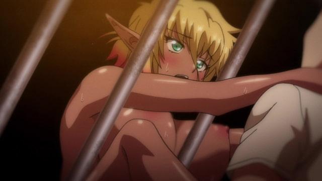 OVA ようこそ!スケベエルフの森へ #3 エルフとダークエルフの全面対決! 救世主様と『らぶらぶ子作り対決』 【通常版】