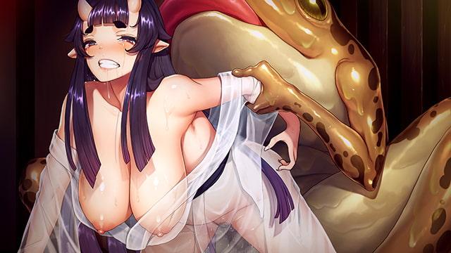 【ボイス特典付き】孕み鬼 ~鬼畜異形に蹂躙される巨乳鬼娘~