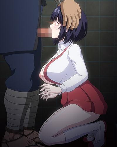 トイレの花子さんVS屈強退魔師 ~悪堕ちマ○コに天誅ザーメン連続中出し~ 第一怪 怪奇『トイレの花子さん』! 悪堕ち巨乳の吊りスカート