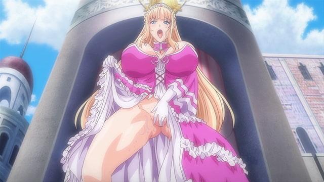 王女&女騎士Wド下品露出 ~前編~ 恥辱の見世物奴隷【HD版】のサンプル画像1