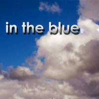 in the blue