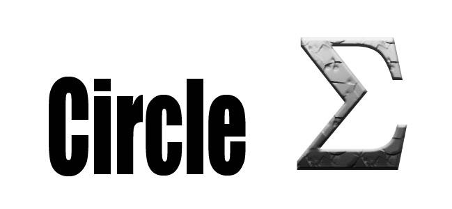 Circle sigma