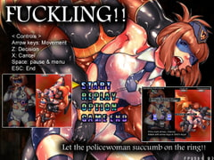 FUCKLING!! Let the policewoman succumb on the ring!! [Almonds & Big Milk]