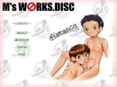 M's WORKS.DISC~distance~ [M's WORKS.]