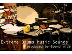 Extreme Drums Music Sounds [Sound wide]