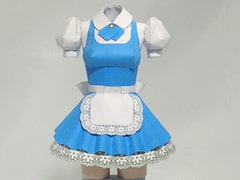 Paper Figure / Pretty Maid A / Blue [PaperCostumeFactory]