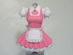 Paper Figure / Pretty Maid A / Pink [PaperCostumeFactory]