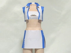 Paper Figure / Race Queen / White-Blue [PaperCostumeFactory]