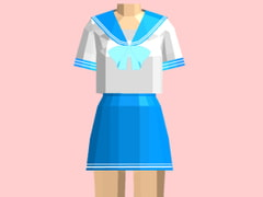 PaperFigure / Sailor Uniform / blue [PaperCostumeFactory]