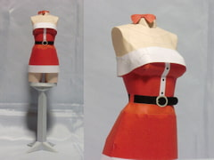 Paper Craft Costume for Santa 2009 for all ages [PaperCostumeFactory]