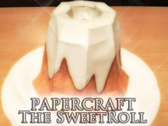PAPERCRAFT the Sweetroll [sweetroll-man]
