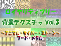 Royalty Free Background Texture Vol.3 - Animal Cyber Stone Food Metal [Yorozusabou MaMi]
