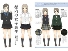 Metro High Schoolers: A Fieldguide to City School Uniforms [honwaka party]