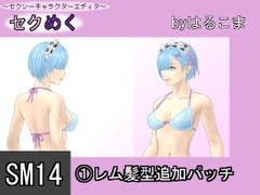 SM14(1)レム髪型追加パッチ