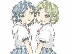 [Illustrations Royalty Free] 2 High-School Girls [Ai Photo]