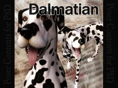 CL-Dalmatian for Poser8Dog [Choco]