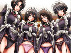 Obscene Myoko maid sisters of my house. [Sideways Life. ]