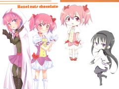 Hazel nuts chocolate