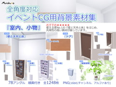 "Multi-angle Background Objects ""Room and Miscellaneous Stuff"" [Murakumo]"