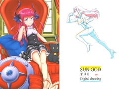 SUN GOD THE Digital drawing