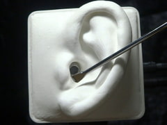 High-speed Cleaning with Stainless Steel Ear Pick - SR3D [No voice] [umino ASMR]