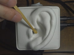 Fast and Slow Ear Cleaning with an SR3D [umino ASMR]