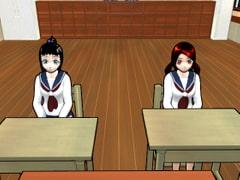 【CG集】放課後ふたなりレズっ娘ボッキちんぽWアナル初めての侵入教室【ビジュアルノベル】