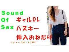 Sound Of Sex~前回やり損ねたギャルOLに挿入!ハスキーボイスで「ねぇ…大きいの挿れて」とおねだり! バイノーラル/ASMR/催眠音声/エロボイス