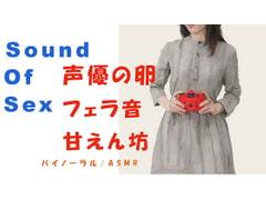Sound Of Sexシリーズ-声優の卵を連れ込み濃厚フェラ!生理中でもタオルをしいてなんとか犯す!めちゃよくしゃべる! HQ ASMR/催眠音声 - Product Image