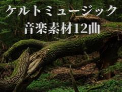 ケルトミュージック音楽素材12曲