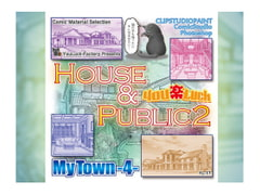 Comic Material Selection YouLuck MyTown 4 House & Public 2 [YouLuck-Factory]